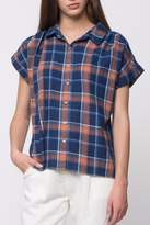 Movint Denim Plaid Sleeve Shirts