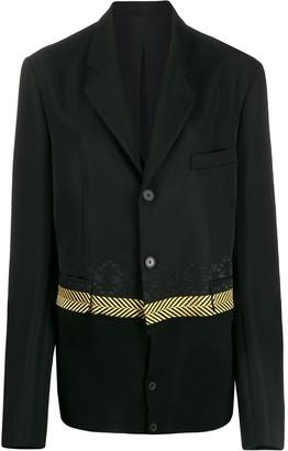 Haider Ackermann embroidered detail blazer