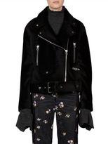 Acne Studios Fur Moto Jacket