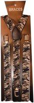 Sock Snob Unisex Adult Camouflage Army Military Suspenders Braces