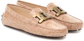 Tod's Kate leather loafers