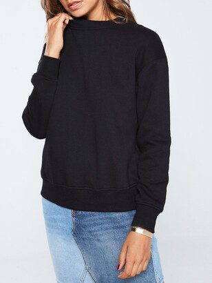 Very The Essential Basic Sweat - Black