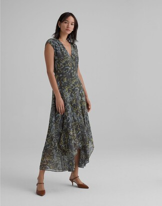 Club Monaco Scarf Hem Dress