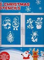 Disney 10 Assorted Paper Christmas Stencils