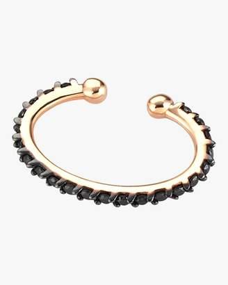 Kismet By Milka Black Diamond Single Cuff Earring