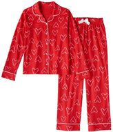 Girls 4-16 SO® Candy Cane Pajama Set