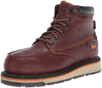 """Timberland Men's Gridworks 6"""" Alloy Safety Toe Waterproof Industrial Boot"""