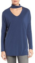 Women's Trouve Keyhole V-Neck Top
