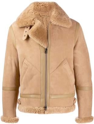 Acne Studios Ian shearling aviator jacket