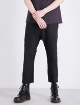 A Diciannoveventitre 1923 dropped-crotched relaxed-fit cotton trousers