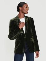 Frame Velvet Classic Blazer