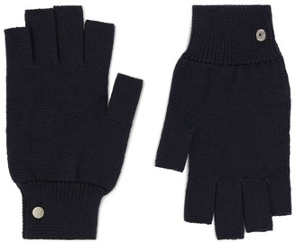 Rick Owens Wool Fingerless Gloves