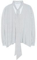 Balenciaga Striped Blouse