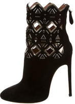 Alaia Embellished Ankle Boots w/ Tags