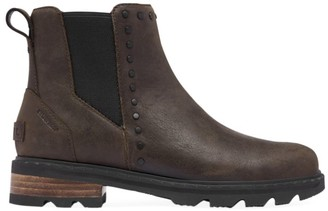Sorel Lennox Studded Leather Chelsea Boots