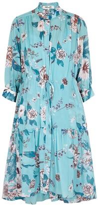 Diane von Furstenberg Davey floral-print cotton-blend dress