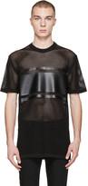 Givenchy Black Mesh T-shirt