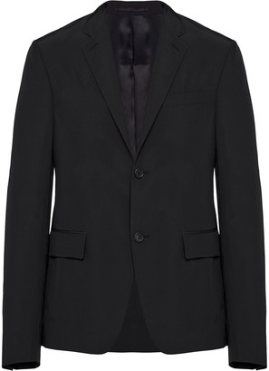 Prada Single-Breasted Slim Jacket