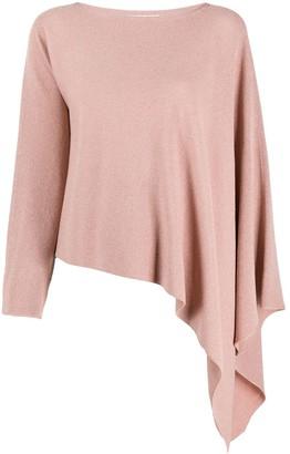 Fabiana Filippi Asymmetric Knitted Top