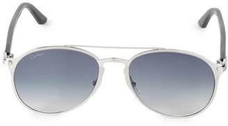 Cartier 56MM Round Sunglasses