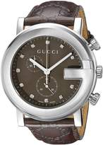 Gucci Men's YA101344 G Chrono Watch