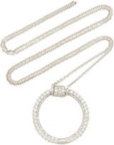 Lauren X Khoo 18K White Gold And Diamond Necklace