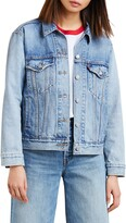 Thumbnail for your product : Levi's Ex-Boyfriend Denim Trucker Jacket