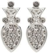 House Of Harlow Embellished Teardrop Studded Earrings