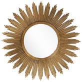 One Kings Lane Starburst Oversize Mirror - Gold