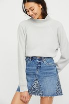 Blank NYC Way Back When Denim Mini Skirt by at Free People