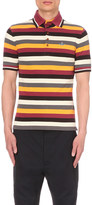 Vivienne Westwood Striped cotton-piqué polo shirt