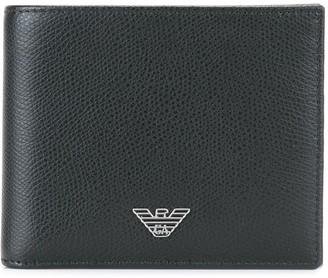 Emporio Armani Logo Plaque Small Wallet