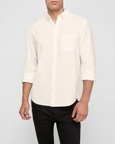 Express Slim Soft Wash Corduroy Button-Down Shirt