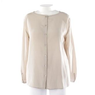 Thomas Rath Beige Silk Top for Women