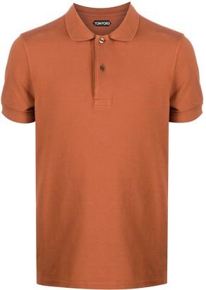 Tom Ford Short-Sleeve Polo Shirt