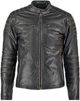 Pepe Jeans Paul Leather Jacket 999 Black