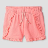 Cat & Jack Girls' Ruffle Knit Shorts