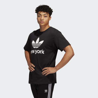 adidas Stacked NYC Trefoil Tee