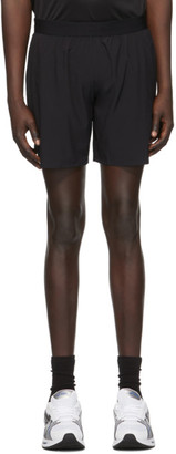 Asics Black 7-Inch Road Shorts