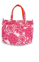 Ju-Ju-Be Ju Ju Be Mighty Be Diaper Bag, Fuchsia Blossoms