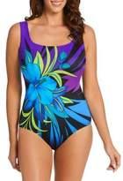 Longitude Floral One-Piece Swimsuit
