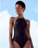 aerie High Neck One Piece Swimsuit