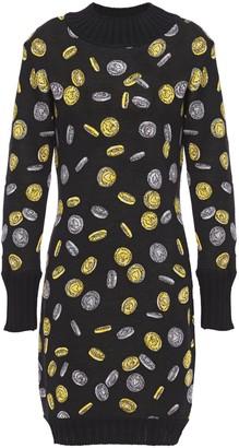 Moschino Wool-jacquard Mini Dress