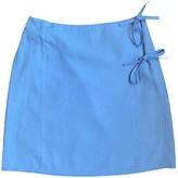 agnès b. Blue Skirt for Women Vintage