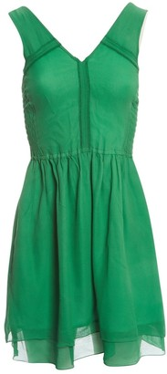 Marc by Marc Jacobs Green Silk Dresses