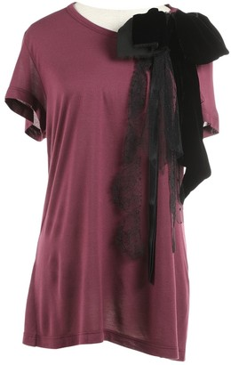 Valentino Red Purple Top for Women