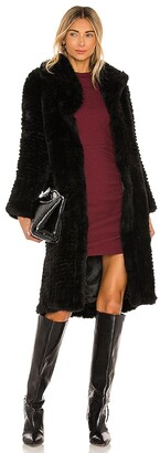 bübish Oxford Faux Fur Coat