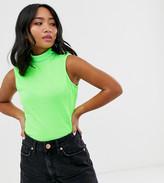 Noisy May Petite Merin short sleeve bodysuit