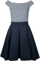 GUILD PRIME striped boat neck dress