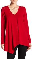 Karen Kane Asymmetrical Angled Shirt